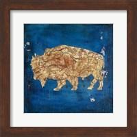 Lodge Pole Pine Bison Fine-Art Print