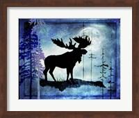 Midnight Moose Fine-Art Print