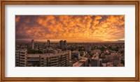 Cityscape at Sunset, Santiago, Chile Fine-Art Print