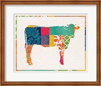 Boho Cow Fine-Art Print