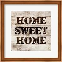 Home Sweet Home In Wood Fine-Art Print