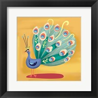 Fancy Peacock Fine-Art Print