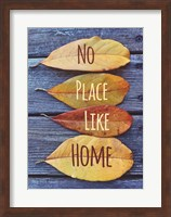 No Place Like Home Leaves Fine-Art Print