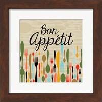Bon Appetit Cutlery Beige Fine-Art Print