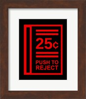 Push To Reject Fine-Art Print