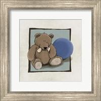 Teddy Bear and Ball Fine-Art Print