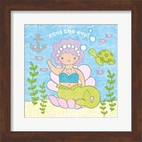 Magical Mermaid III Fine-Art Print