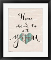 Home with You (heart) Fine-Art Print