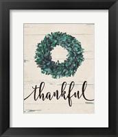 Thankful Wreath Fine-Art Print