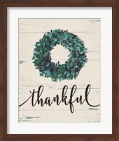 Thankful Wreath Fine-Art Print