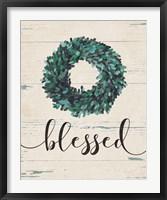 Blessed Wreath Fine-Art Print