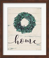 Home Wreath (vertical) Fine-Art Print