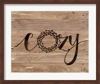 Cozy Rustic Wreath Fine-Art Print