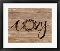 Cozy Rustic Wreath Fine-Art Print