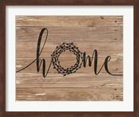 Home Rustic Wreath Fine-Art Print