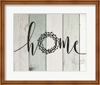 Home Rustic Wreath II Fine-Art Print