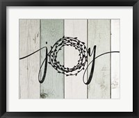Joy Rustic Wreath II Fine-Art Print