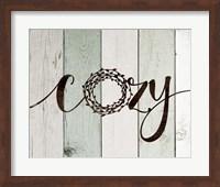 Cozy Rustic Wreath II Fine-Art Print