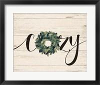 Cozy Wreath Fine-Art Print