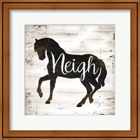 Farmhouse Horse Fine-Art Print