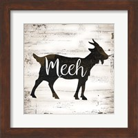 Farmhouse Goat Fine-Art Print