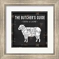 Butcher's Guide Lamb Fine-Art Print