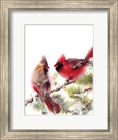 Cardinals II Fine-Art Print