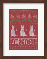 Love My Dog Fine-Art Print