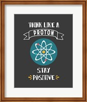 Think Like A Proton Gray Fine-Art Print