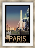 Paris Wall Poster