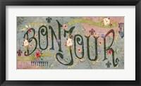 Bonjour Fine-Art Print