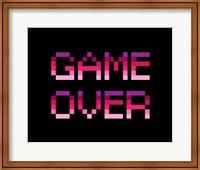 Game Over  - Purple Fine-Art Print