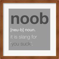 Noob - Gray Fine-Art Print
