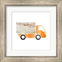 Truck With Paint Texture - Part III Fine-Art Print