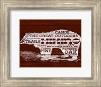 Bear Text Fine-Art Print