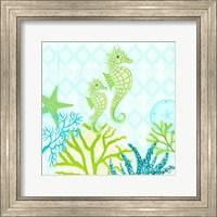 Seahorse Reef I Fine-Art Print