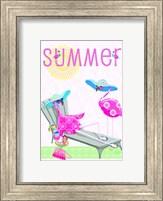 Flamingo Summer I Fine-Art Print