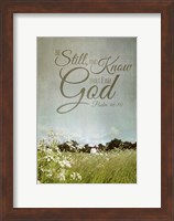 Be Still and Know Fine-Art Print
