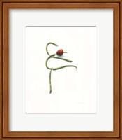 String Bean Chili Pepper Arabesque Fine-Art Print