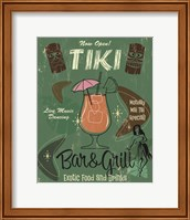 Tiki Bar & Grill B Fine-Art Print