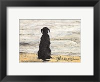 Black Dog Going Home Fine-Art Print