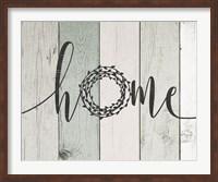 Home Rustic Wreath II Fine-Art Print