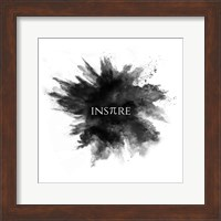 Inspire Powder Explosion Black Fine-Art Print