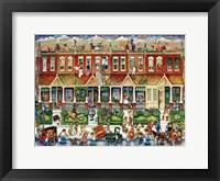 Row Houses Fine-Art Print