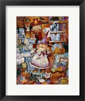 Kitty Kitchen Witch 2 Fine-Art Print