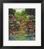 Possom Trot Logging Camp Fine-Art Print