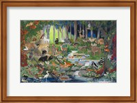 With St. Francis #1 - Forest Glade Fine-Art Print