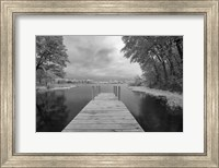 Dock at St. Joseph River, Centreville, Michigan '13-IR Fine-Art Print