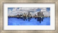 Detroit Day And Night, Detroit, Michigan 07 - Color Pan Fine-Art Print