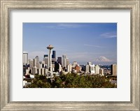 Seattle Cityscape, Seattle, Washington 02 - Color Fine-Art Print